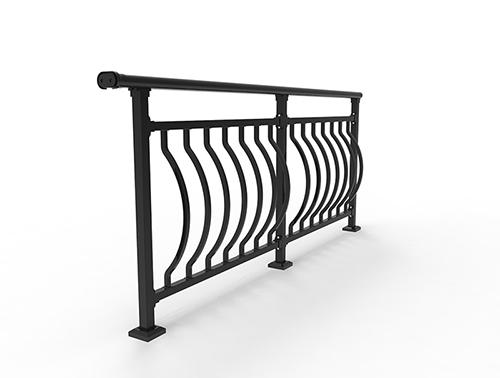 锌钢鼓形栏杆