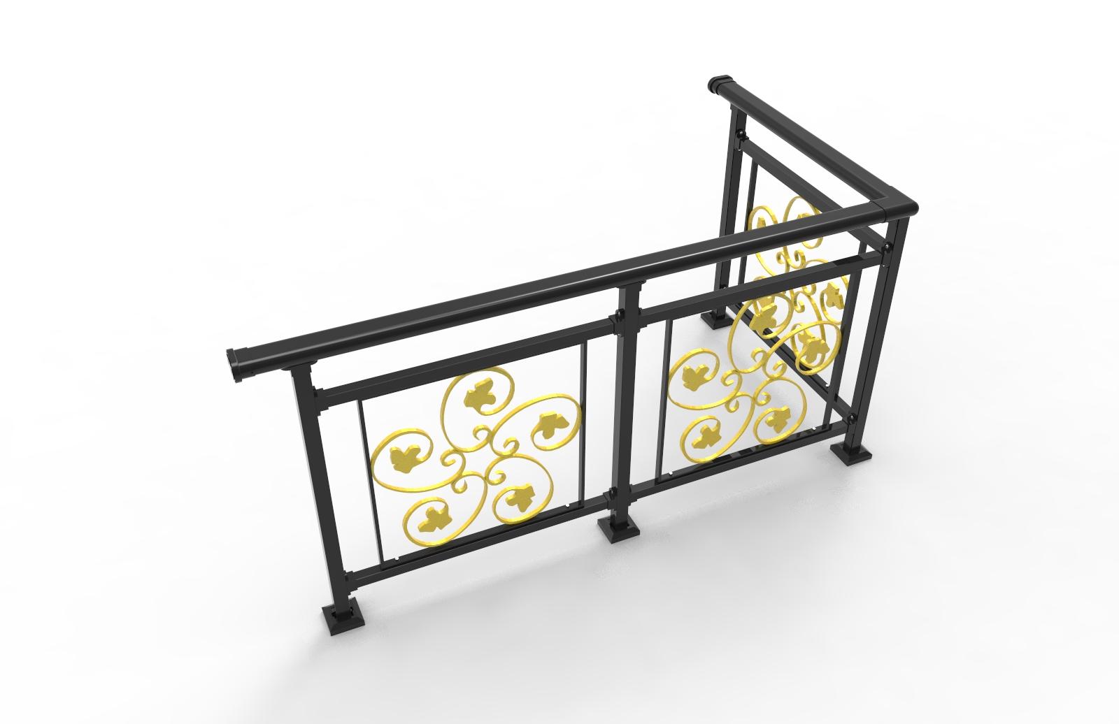 锌钢铁花栏杆
